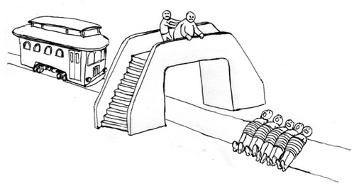 Image result for trolley dilemma