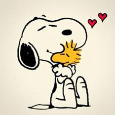 snoopy-hug