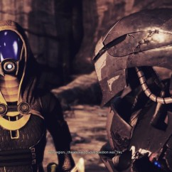 Image result for tali and legion does this unit have a soul