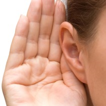 Image result for hand cupped by ear