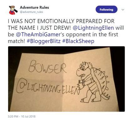 Blogger blitz round