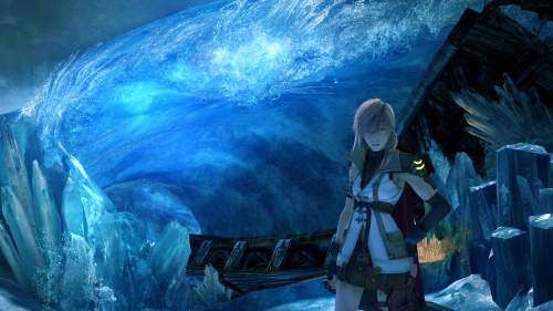 Final Fantasy XIII Lake Bresha