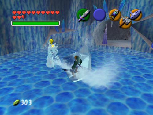 Ocarina of Time Ice Cave
