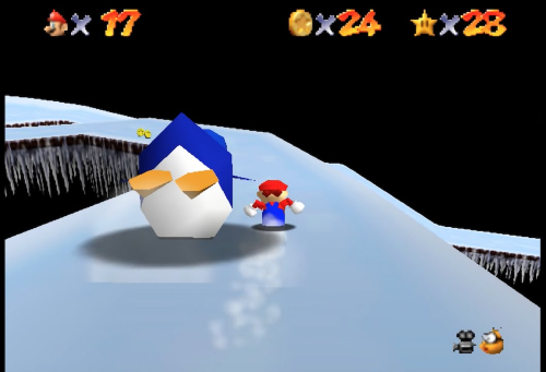 Super Mario 64 Cool Cool Mountain
