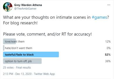 intimacy poll